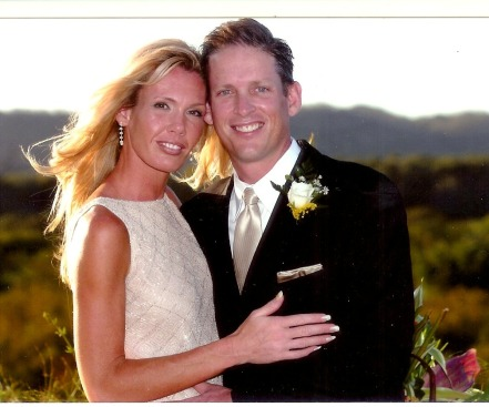 Steve and me wedding
